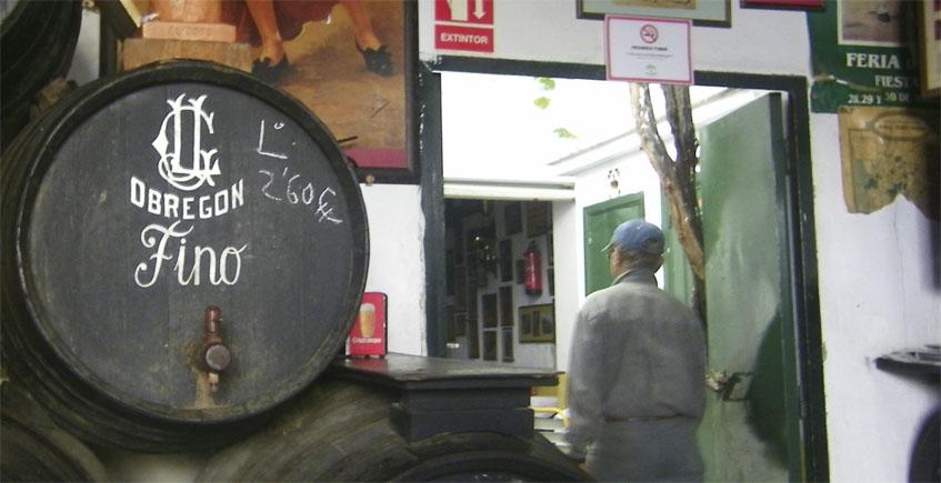 El pollo al PX de las bodegas Obregón