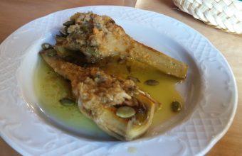 Las alcachofas del restaurante Los Esteros