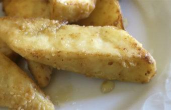 Las berenjenas con miel de la Venta El Albero