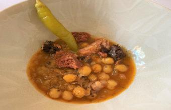 La berza de coles del Mesón Sabor Andaluz