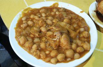 La berza de coles de la bodega Obregón
