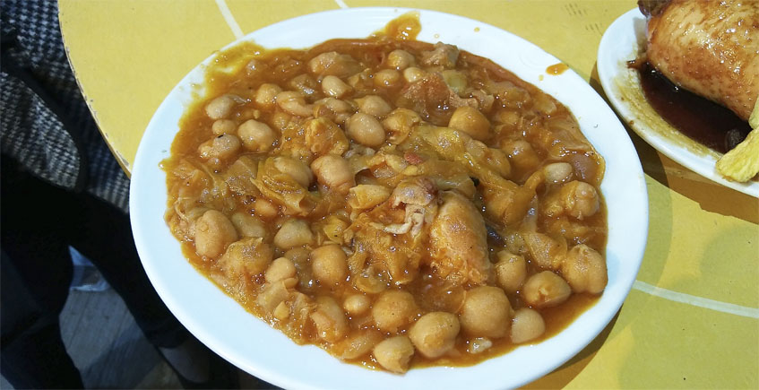 Berza de coles de la bodega Obregón. Foto: Cosasdecome