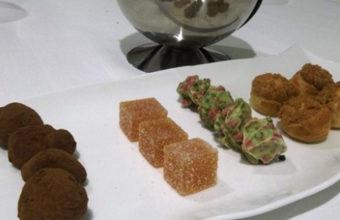 El menú arcilla del restaurante Mantúa