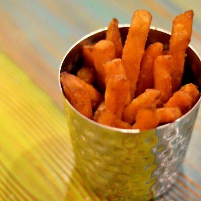 Boniatos fritos