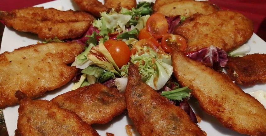 Los boquerones en tempura del Mesón Casa Antonio