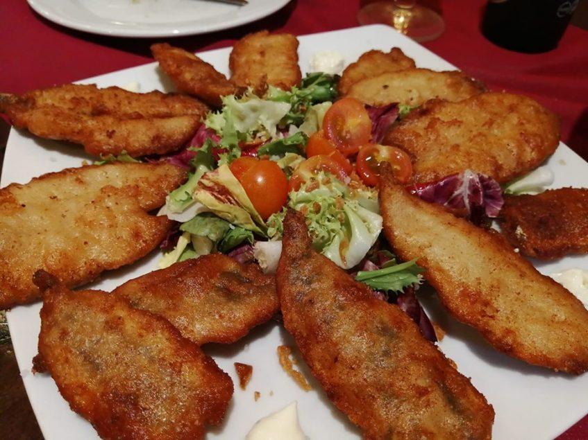 Boquerones en tempura