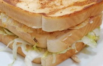 El sandwich de pollo del Burguer Brooklyn