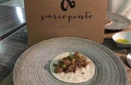 El burrito de paletilla de cordero de Variopinto