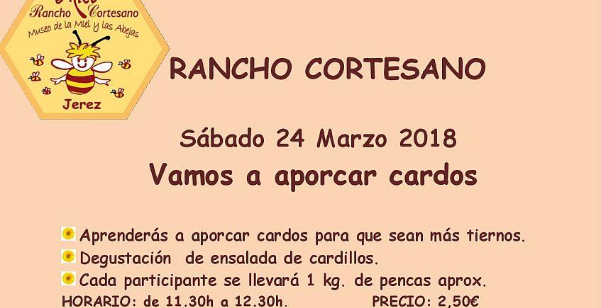 24 y 25 de marzo. Jerez. Actividades en Rancho Cortesano