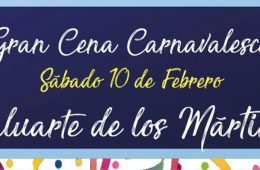 10 de febrero. Cádiz. Gran cena carnavalesca en el Baluarte de Los Mártires