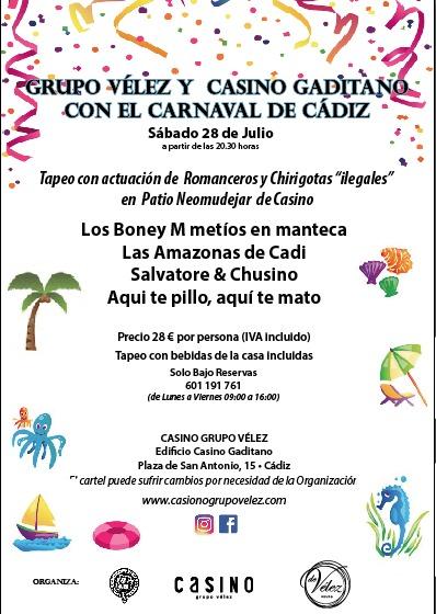 CARTEL CARNAVAL VERANO 2018 A4