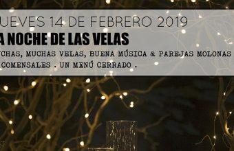 14 de febrero. Cádiz. Velas para celebrar el Día de los Enamorados en el Sonámbulo