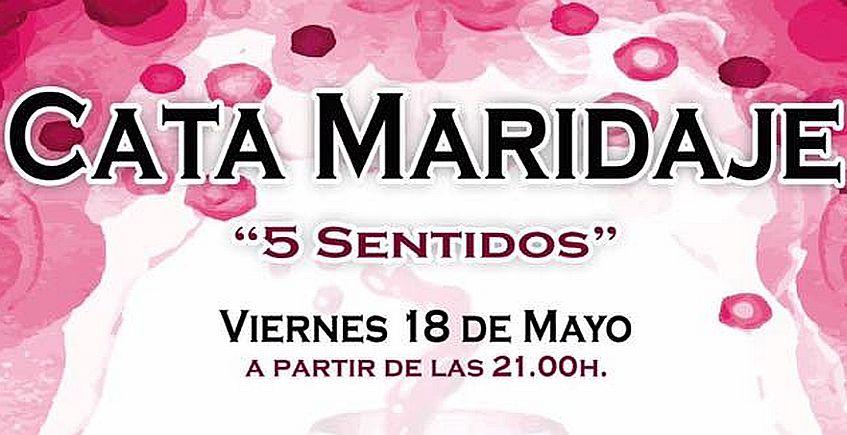 18 de mayo. Rota. Cata maridaje Cinco sentidos en Plaza Nueva