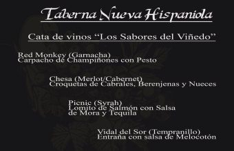 16 de noviembre. Cádiz. Cata de vinos en la Taberna Pirata Nueva Hispaniola