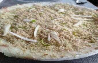 La corvina marinada con vinagreta de jengibre de Cañalerma
