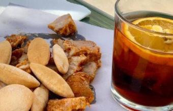 El vermouth con chicharrones de Ca'Moña