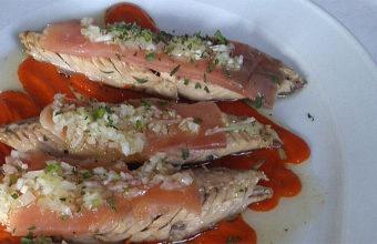 Los filetes de caballa con salmón de Casa Bigote