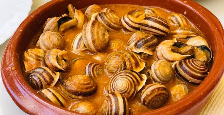Las cabrillas en salsa del hostal La Giralda