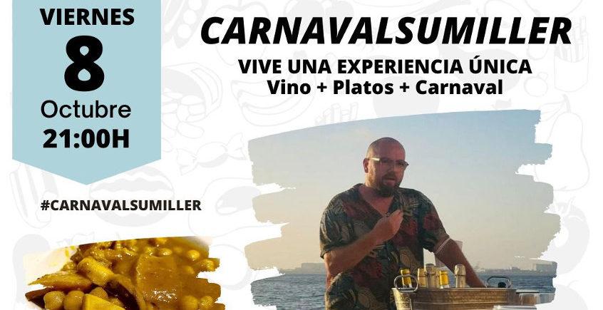 Carnaval, vinos y gastronomía en Calesa