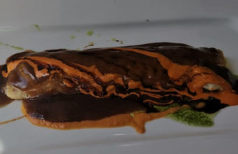 El canelón de carrillada del Restaurante Hermanos Grimaldi