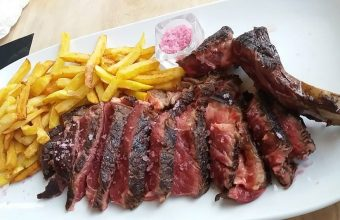 La carne a la brasa de Vascook
