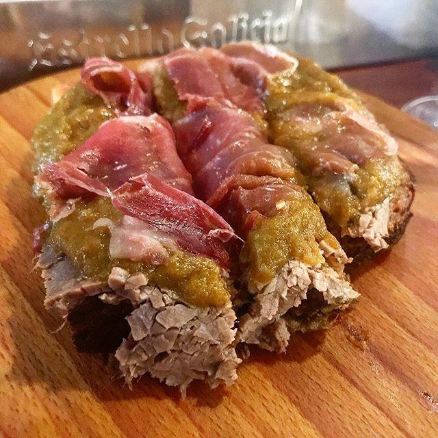 Carne mecha y jamon La Bodeguilla