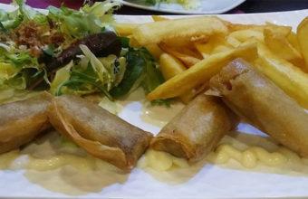La carrillada en tempura del mesón Casa Antonio