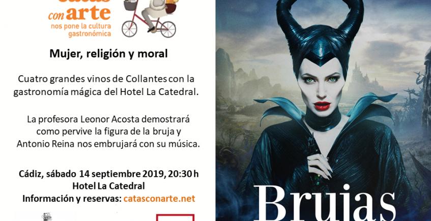 """""""Brujas feministas"""", nueva cata con arte el 14 de septiembre en Cádiz"""
