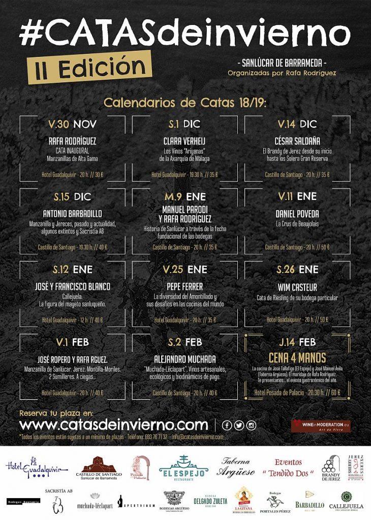 Cartel Catas 2ª Edición Campo 847