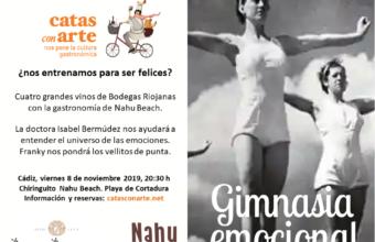 Cata con arte sobre gimnasia emocional el 8 de noviembre en Cádiz