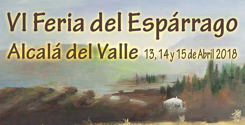 2 al 15 de abril. Alcalá del Valle. VI Feria del Espárrago y Ruta de la Tapa