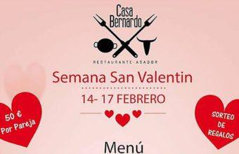 14 al 17 de febrero. Chiclana. San Valentín en Casa Bernardo