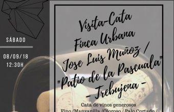 8 septiembre. Trebujena. Visita-cata Casa de la Pascuala