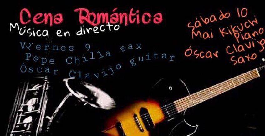 9 y 10 de febrero. Jerez. Cena romántica con música en directo en Cuchara de Palo