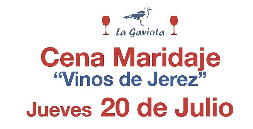 20 de julio. Rota. Cena maridada con jereces en La Gaviota