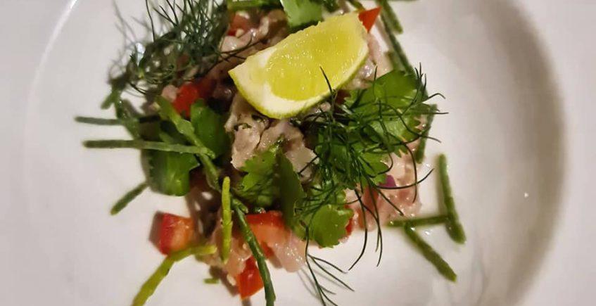 El ceviche de corvina del restaurante Patria