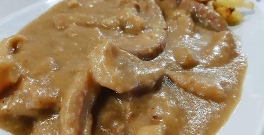 Los chocos al pan frito de la Taberna Cabildo