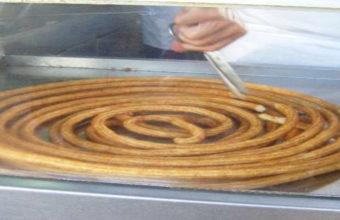 Los churros del Mercado de Abastos de Jerez