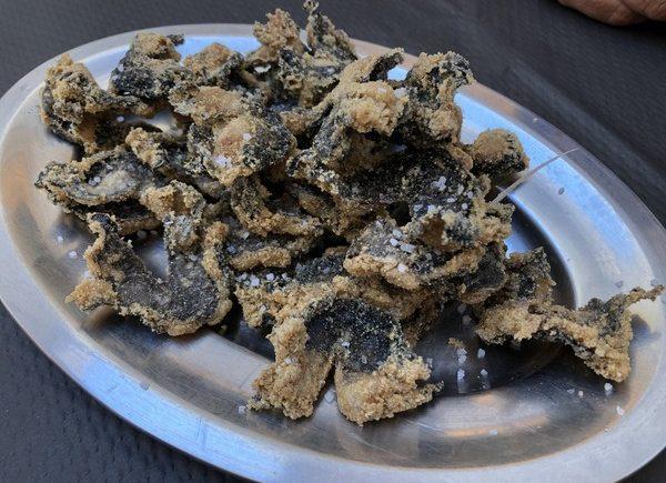 Las cocochitas fritas de la bodeguita El Adobo