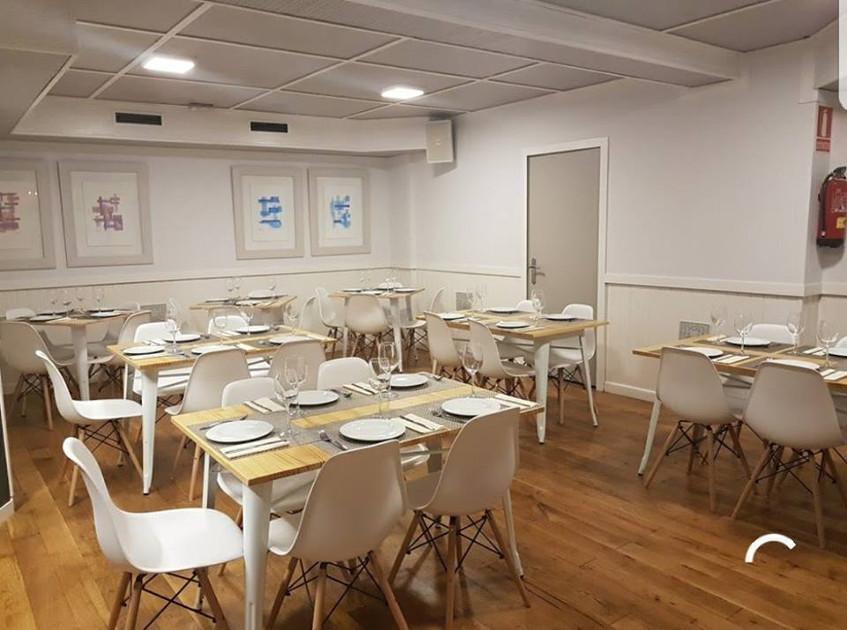 Vista del comedor del establecimiento. Foto: Cedida por Gastro Iruña.
