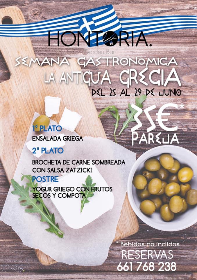 Comida griega Hontoria