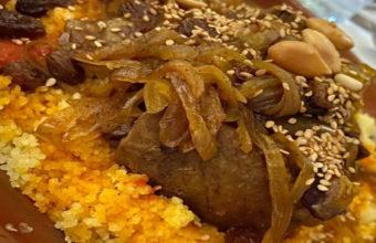 El couscous agridulce del Restaurante El Jardín de El Califa