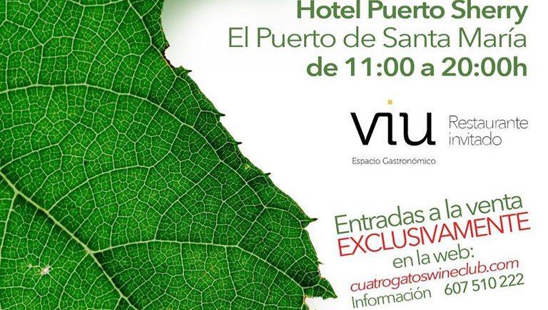 Cuatro Gatos Wine Fest en El Puerto, con Viu como restaurante invitado