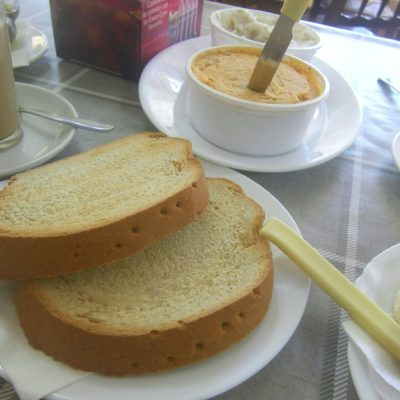 Desayuno de la Venta San Isidro