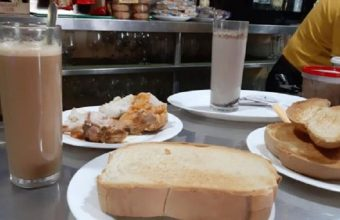Los desayunos de la Venta El Pollo