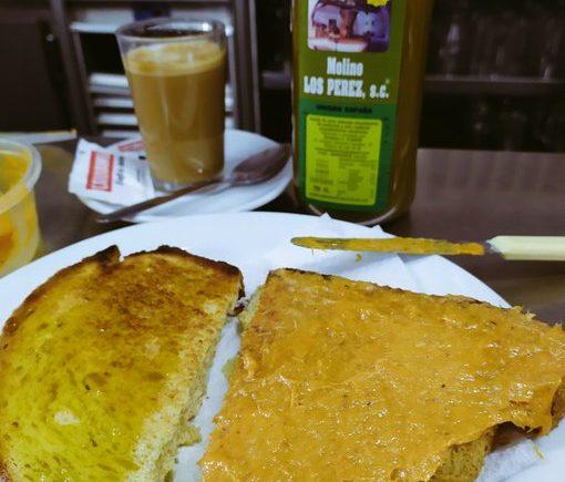 Los desayunos de la Venta La Cabrala