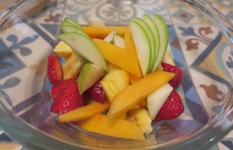 La ensalada de frutas de Miss Kafeína