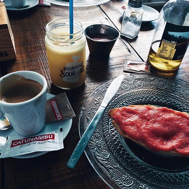 Desayuno Saja River Carmen Ibañez