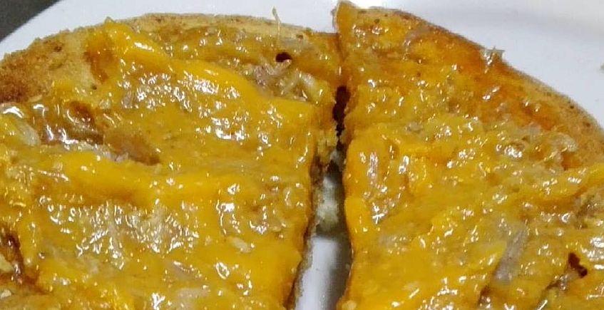 El pan de Alcalá con manteca colorá de la Venta Durán