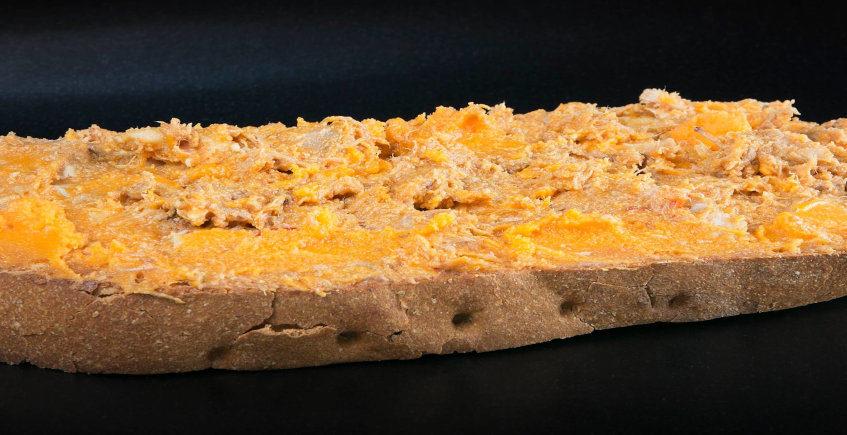 El bocadillo de Lomo en manteca de la Venta Pinto